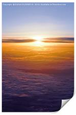 Above the clouds, Print