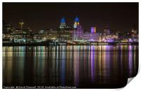 Liverpool Waterfront   , Print