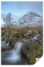 The herdsman of Etive, Scotland, Print