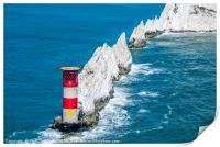 The Needles Lighthouse, Print