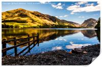Buttermere to Fleetwith Pike, Print