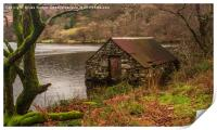 Autumn at the Boat House, Print