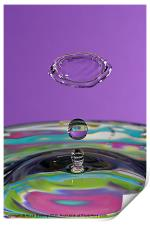 Water Collision, Print