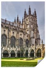 Canterbury Cathedral, Print