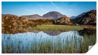 Reflections of Great Gable, Print