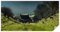 Dale End Farm, the Manifold Valley, Print