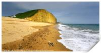 Bridport sands and East Cliff            , Print