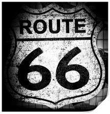 Route 66., Print