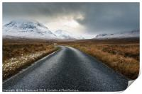 The Road To Glen Etive, Print