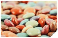 Sweet Colorful Candy, Print