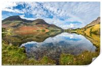 Buttermere in Autumn, Print