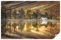 Buttermere Boathouse, Print