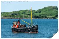 VIC32, one of the last seagoing Clyde puffers, Print