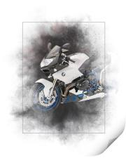 BMW HP2 Sport Painting, Print