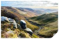 Edale from Kinder, Print