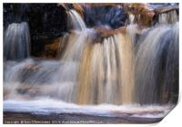 Waterfall (Abstract), Print