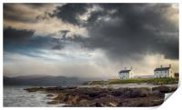Stormy Sky at Penmon Point, Anglesey., Print