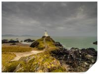 The Tower at Llanddwyn Island, Anglesey., Print
