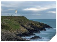 Strumble Head Lighthouse, Pembrokeshire., Print
