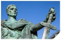 Constantine the Great Statue in York, Print