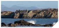 Cromwell's Castle Inishbofin, Print