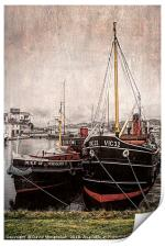 Boats with History                        , Print