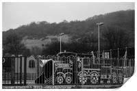 Ghost Train by Cleeve Hill, Print