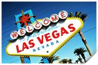 Welcome To Vegas Baby, Print