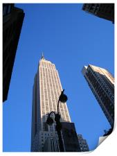 Empire State Different View, Print