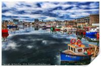 Sutton Harbour Plymouth, Print