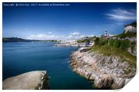 Plymouth Foreshore, Print