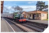 All Aboard at Weybourne, Print