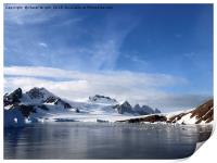View from Red Rock Ridge, Antarctica, Print