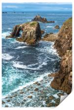 Enys Dodnan and the Armed Knight at Lands End 2, Print