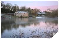 Sturminster Newton Mill, Print