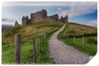 Ruthven Barracks, Print