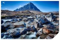 View of the Munro Stob Dearg, Print