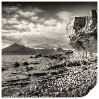 The Black Cuillins from Elgol, Print
