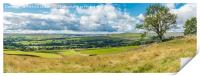 Teesdale to Lunedale from Blunt House Panorama, Print