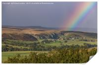 Rainbow's End, Holwick, Teesdale, Print