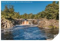 A Perfect Autumn Morning at Low Force Waterfall, Print