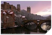 Durham Castle and Cathedral, Print