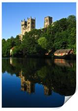Durham Cathedral Reflection, Print