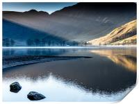Sunrise at Buttermere, Print