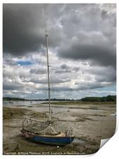 Low Tide - Itchenor, Print