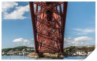 Underneath The Forth Bridge, Print