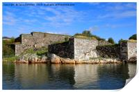 Fortifications in Fortress of Suomenlinna, Print