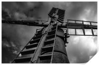 My Windmill is a monster, Print