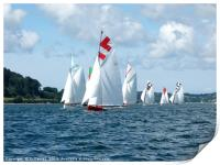 Falmouth Working Boats, Print