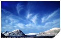 The Buachaille Etive Mor in Glencoe, Print
